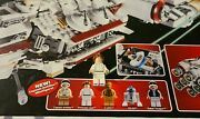 Lego Star Wars Smooth Hair 10198 Princess Leia Tantive Iv Factory Defect Retired