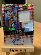 2021 Legacy Trevor Lawrence Auto Jersey Patch Futures Ruby 44/50