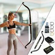 Ballista Bow Workout Bow- Portable Home Gym Resistance Bands Travel Bow Full Set