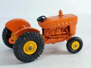 Ford Tractor From K-20 Set Matchbox Lesney 39 Made In England In 1967