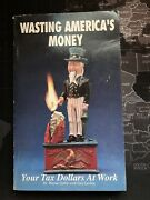 1990 Wasting Americasand039s Money Your Tax Dollars At Work- W. Gable Vtg Paperback