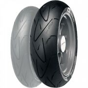 Continental Contisport Attack Hypersport Radial Rear Motorcycle Tire 180/55zr-17