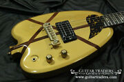 H.s.anderson 1980and039s Hs-a1 Houston-h Gold Electric Guitar With Soft Case