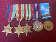 Ww2 British Miniature Medals And Korean Medal.