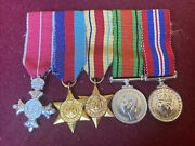 Ww2 British Miniature Medals And Obe