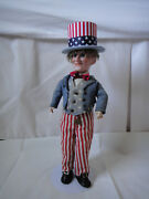 Uncle Sam Doll - Dressell S 1 - Simon And Halbig – 13 Inches Germany - Circa 1896,