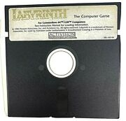 Labyrinth Commodore 64 C64 128 Computer 5.25 Disc Game Only Scarce Good
