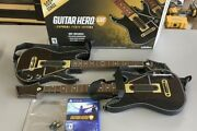 Ps4 Guitar Hero Live - Includes 2 Guitars, 2 Straps, 2 Dongle, Game And Box
