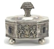 Very Rare Beautiful Piece Antique Russian Silver 84 Collectible