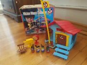 Vintage 1976 Hasbro Walt Disney Mickey Mouse Weebles Clubhouse Accessories