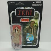 Vc62 Star Wars Vintage Collection Han Solo Trench Coat Unpunched Revenge Carded