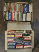 Boxes Of Replacement Christmas Tree Lightbulbs Westinghouse Ge Colored Bulbs