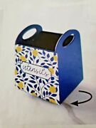 Lemon Grove Kitchen Collection-kitchen Sign Or Utensil Caddy Lazy Susan