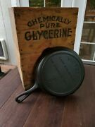 Victor Griswold 7 Cast Iron Skillet With Full Logo Rare Factory Mistake