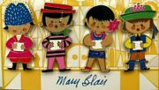 Mary Blair It's A Small World 40th Anniversary Pin Set Of 4 Le 300 Wdi 2006 1