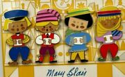 Mary Blair It's A Small World 40th Anniversary Pin Set Of 4 Le 300 Wdi 2006 3