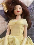 Disney Store Beauty And The Beast Belle Doll Knickerbocker Limited Edition 1998