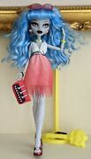 Monster High Dawn Of The Dance Ghoulia Yelps Doll And Accessories