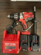 Milwaukee M28 0726-20 Magnum 1/2 Cordless Hammer Drill Kit 2 Battery/ Charger