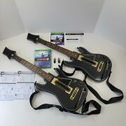 Guitar Hero Live Bundle Microsoft Xbox One Game, 2 Guitars, 2 Dongles And 2 Straps
