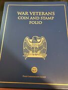 War Veterans Coin And Stamp Folio
