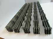 Lionel 6-65523 O Gauge Track Lot 25 40 Straight Track Sections Original Box