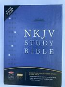 The Nkjv Study Bible By Thomas Nelson Publishing Staff 2008, Bonded Leather