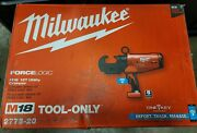 Milwaukee Forcelogic M18 12t Utility Crimper 2778-20 One Key Brand New Tool Only