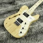 Fender Made In Japan Traditional 70 Telecater Thinline Natural Popular