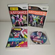 Just Dance 12 3 4 Special Edition Nintendo Wii Game Bundle - Tested And Working
