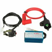 Motorcycle Ignition Coil 5 Pin Cdi Box 7/8 Kill Switch For 50-125cc Dirt Bike