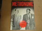 Metronome Magazine May 1952,hackett + Eldridge Cover, See Table Of Contents Pix