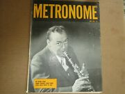 Metronome Magazine June 1952,woody Herman Cover, See Table Of Contents Pix