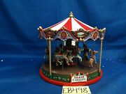 Lemax Village Collection The Grand Carousel 84349 As Is Eb498