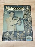 July 1940 Metronome Modern Music And It's Makers Magazine Les Brown
