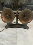 Rare American Beauty Twin No.6215 Electric Heater Vintage Antique 20and039s Steampunk