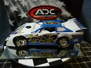 Billy Faust 92 1/24 2008 Dirt Late Model Adc Red Series Car Rare