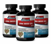 Omega-3 1000 - Chia Seed Oil 2350mg - Support Strong Bones Capsules 3b