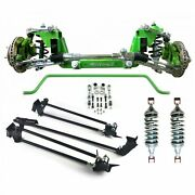 67-79 Ford Truck Mustang Ii Ifs Manual 2 Drop Coilover Sway Bar Parallel 4-link