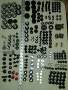 Lot Of 300 Vintage Electronics And Radio Knobs Controls Pointers Parts