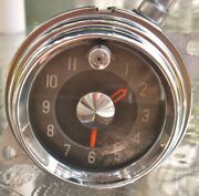 1955 Buick Century Electric Dash Clock Excellent Condition Bench Tested