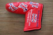 Scotty Cameron 2006 Red British Open Dancing Scotty Dogs Headcover