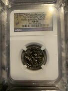 2019 W Guam War In Pacific Np Quarter 25c Ngc Ms 68 West Point