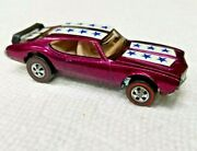 Redline Hot Wheels 1969 Olds 442 Vintage Original Awesome And Near Minty