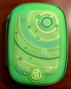 Leapfrog Leappad 1, 2, Or 3 Explorer Carrying Case - Green Space - Excellent