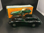Jaguar Xke E-type Car Glass Model Decanter In Box With Mens After Shave, Avon