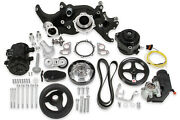 Holley Ls Mid-mount Complete Engine Accessory System 20-185bk