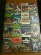 Punt Pass And Kick Library 16 Hard Cover Book Lot Nfl Football 1960and039s And 1970and039s