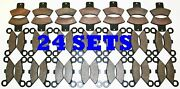 24 Sets 2000 Polaris 325 Magnum 2x4 4x4 Front And Rear Brake Pads