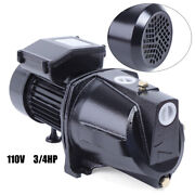 3/4hp Shallow Well Jet Pump W/ Pressure Switch Booster Water Self-priming New